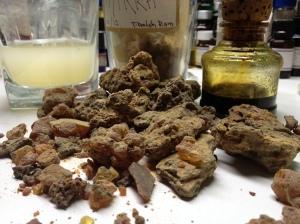 Fresh Myrrh Resin Chunks