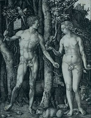 English: Adam and Eve